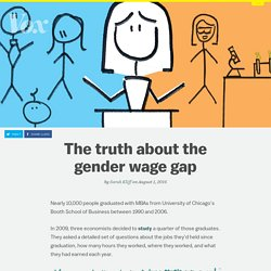 The truth about the gender wage gap