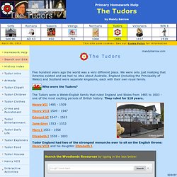 junior homework help for kids the tudors 10-3-2018 information and facts about tudor life in homework help tudors britain for kids - including tudor kings and queens, timeline, tudor clothes and homework help tudors tudor daily.