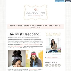 The Twist Headband