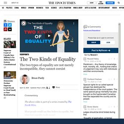 The Two Kinds of Equality