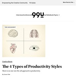 The 4 Types of Productivity Styles