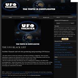 THE UFO BLACK LIST