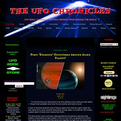 THE UFO CHRONICLES | UFO News • Reports • Sightings • From Around The World
