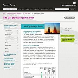 The UK graduate job market