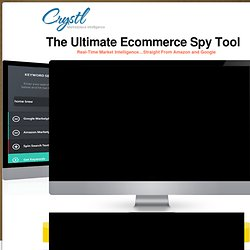 The Ultimate Ecommerce Spy Tool