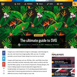 The ultimate guide to SVG