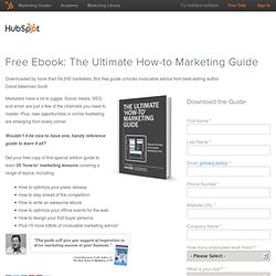 The Ultimate How-to Marketing Guide with David Meerman Scott