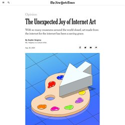 The Unexpected Joy of Internet Art
