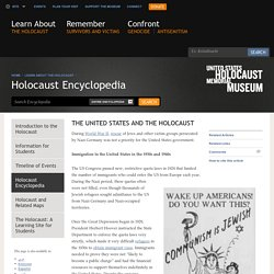 The United States and the Holocaust