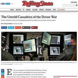The Untold Casualties of the Drone War