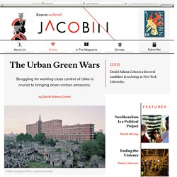 The Urban Green Wars