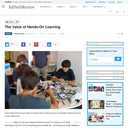 The Value of Hands-On Learning