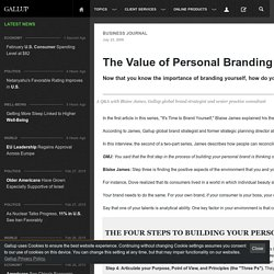The Value of Personal Branding