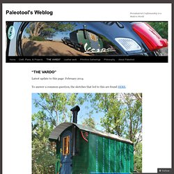 Paleotool's Weblog