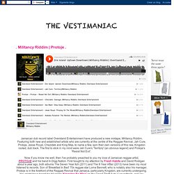 . THE VESTIMANIAC .