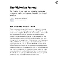 The Victorian Funeral: & The Victorian Undertaker