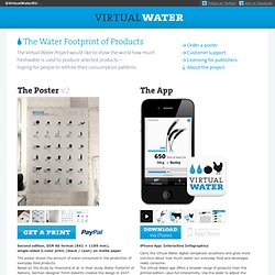 The Virtual Water Project