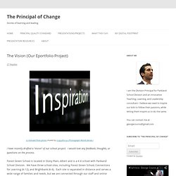 The Vision (Our Eportfolio Project)
