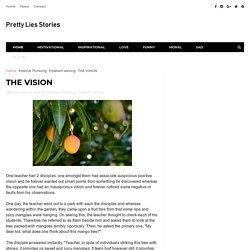 THE VISION - Pretty Lies Stories