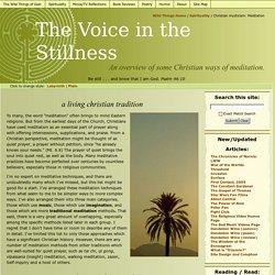 The Voice in the Stillness