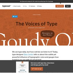 The Voices of Type