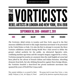 [US] The Vorticists - exposition / Nasher Museum of Art, Duke University