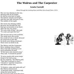The Walrus & The Carpenter