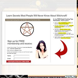 Wicca Spells - The Wand