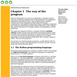 The way of the program