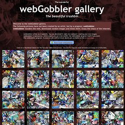 The webGobbler gallery