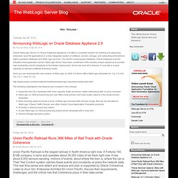 The WebLogic Server Blog