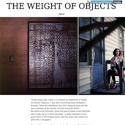 The Weight of Objects