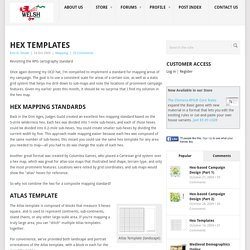 The Welsh Piper » Hex Templates