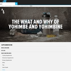 The What And Why Of Yohimbe And Yohimbine