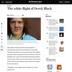 The white flight of Derek Black