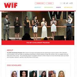 » The WIF Scholarship Program
