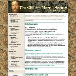 The William Morris Society U.S.