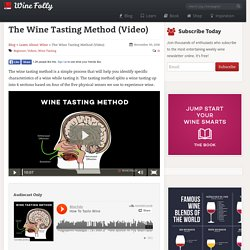 The Wine Tasting Method (Video)