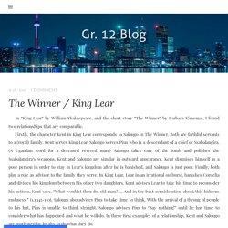 The Winner / King Lear