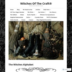 The Witches Alphabet – Witches Of The Craft®