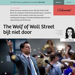 The Wolf of Wall Street bijt niet door