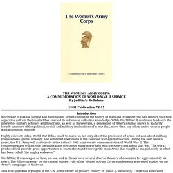 The Women's Army Corps
