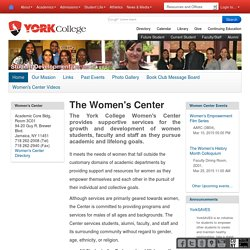The Women's Center — York College