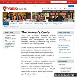The Women's Center — York College
