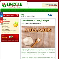 The Wonders of Taking Collagen