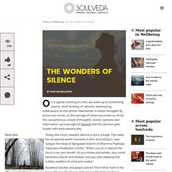 The wonders of silence