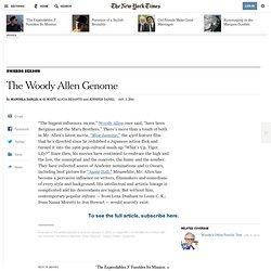 The Woody Allen Genome