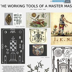 The Working Tools of a Master Mason