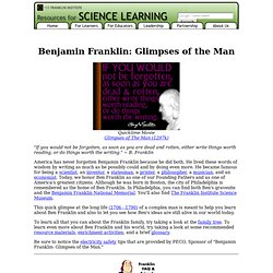 The World of Benjamin Franklin