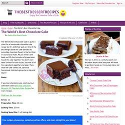 The World's Best Chocolate Cake